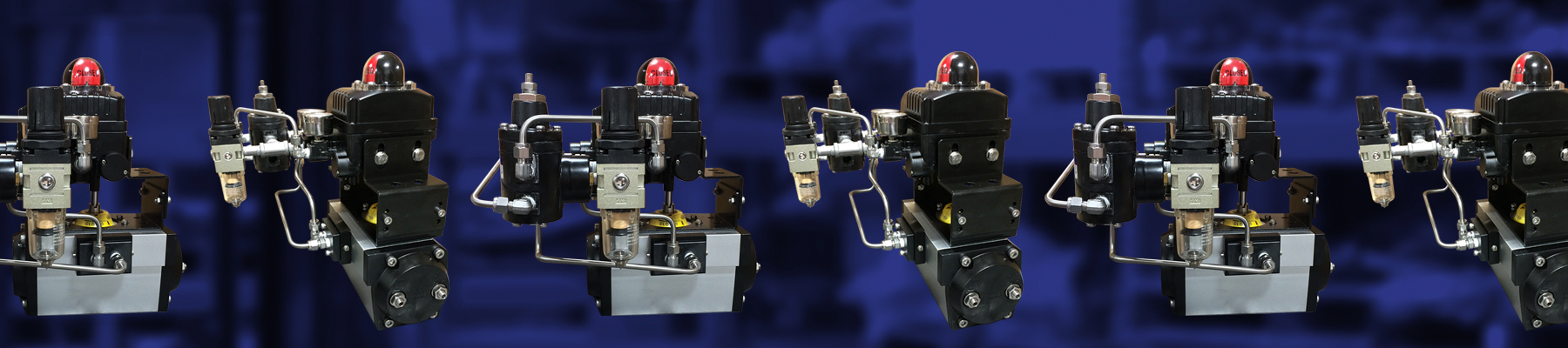 4-20mA Modulating Fail-Freeze Double-Acting Actuator